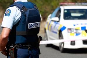 Police have taken down cordons at the tiny Manawatū town of Himatangi Beach after a knife attack.