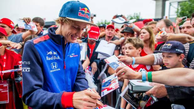 Brendon Hartley claimed 10th spot in the German Grand Prix