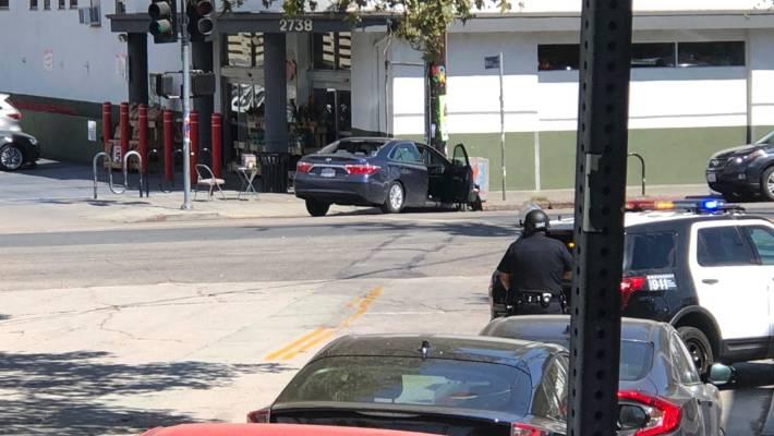 Los Angeles supermarket gunman in custody after police chase   Stuff