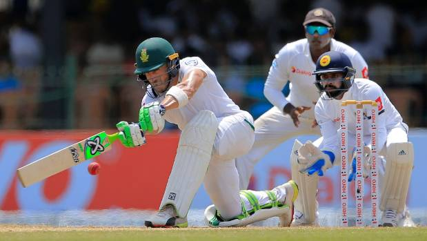 Luck flows South Africa's way but heavy defeat looms still