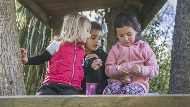 Hogan believes outdoor play is vital for children's development and confidence.