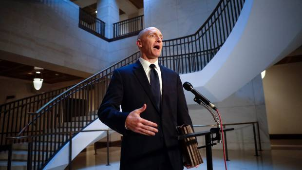 Donald Trump's former foreign policy adviser Carter Page says claims he worked on Russia's behalf are