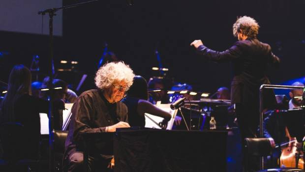 Leunig in concert with the Sydney Symphony Orchestra