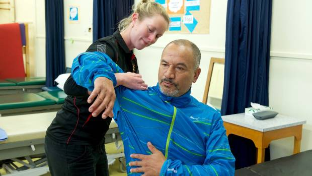 Temuera Morrison says he likes to keep in shape so he's ready for any acting projects when they arise.