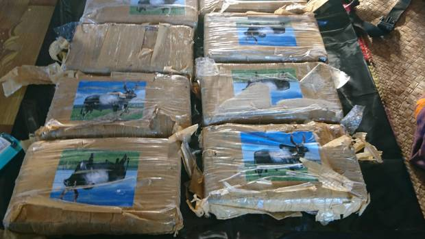 The New Zealand Defence Force has assisted Fiji authorities in recovering over 12 kgs of cocaine that were found in a remote island last week.