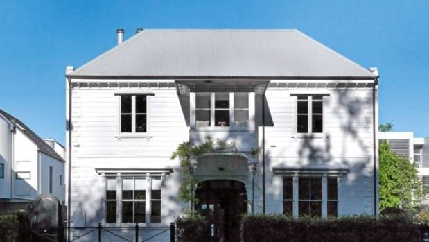 Prentice's revamped Georgian-style 1880s house in the central city featured in NZ House & Garden magazine.