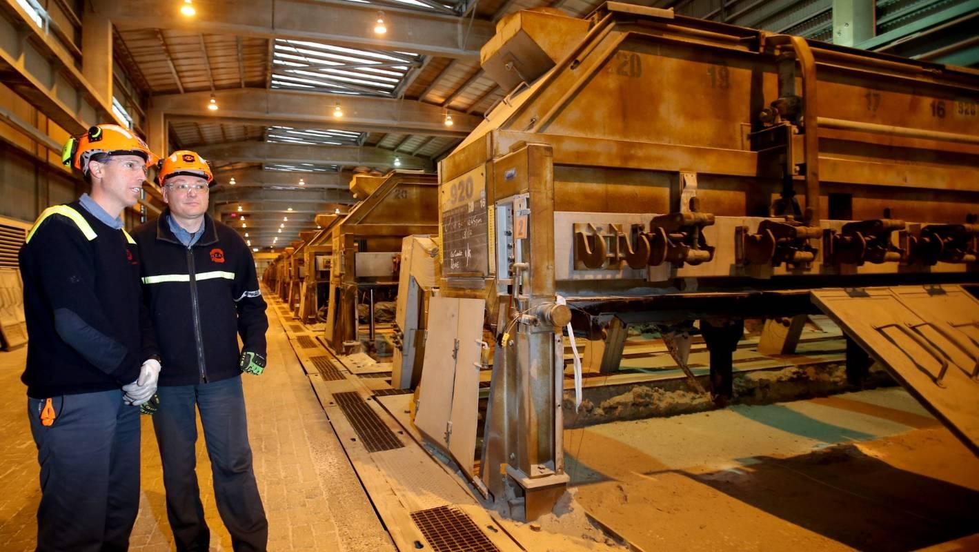 Tiwai Aluminium Smelter Gets Its 90 Extra Staff Stuff Co Nz