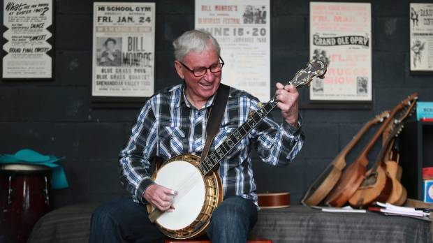 Hamilton bluegrass pioneer Paul Trenwith is helping to establish New Zealand's first Kiwigrass festival.
