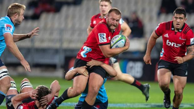 Crusaders hit back at Lions' illegal scrum claim