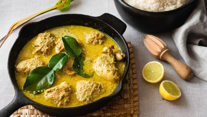 A Perfect Balinese Chicken Curry Starts With A Curry Paste