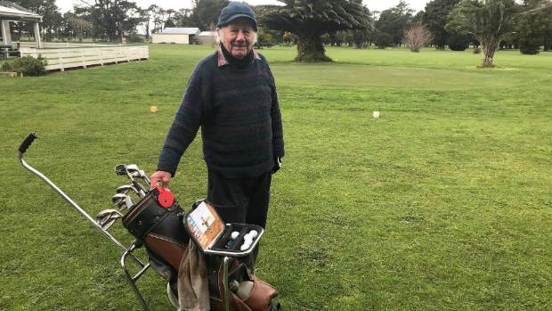 Regular midweek golfer Eric Manson of Featherston was shocked to hear the club was closing.