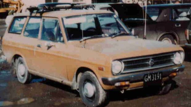 A nationwide search for a Datsun 120Y car similar to this one, was carried out in connection with the disappearance of ...