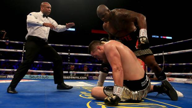 Joseph Parker allowed himself to get roughed up by Dillian Whyte, according to top boxing trainer Peter Fury.