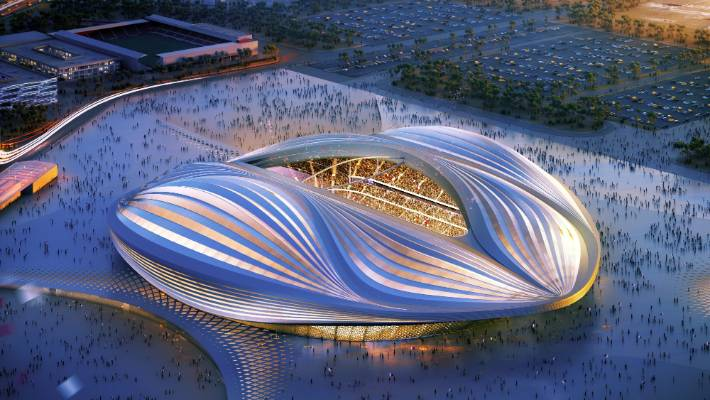 39134d97270 A computer generated impression of one of Qatar s new World Cup stadiums.