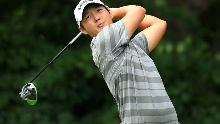 9efd6f448aae7 New Zealand s Danny Lee is a step closer to retaining his PGA Tour card  after a