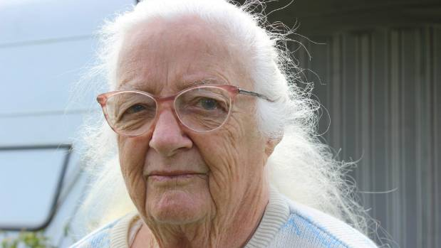 After living in her caravan at a north Auckland reserve for 13 years, Marion Carpenter is being told to move.