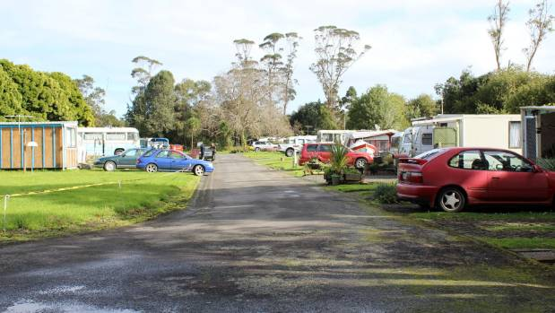 At least 17 people were semi-permanent residents at the caravan park site near Helensville, north Auckland.