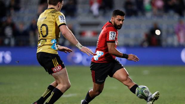 Richie Mo'unga has been in sublime form for the Crusaders and has shown all the qualities to be an outstanding ...