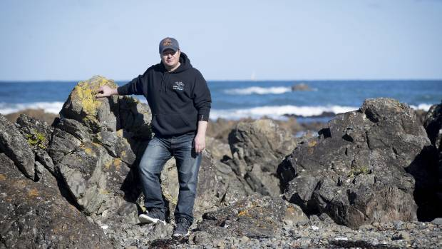 Rob Wilson of Ghost Fishing came across the wreckage with others on Sunday.