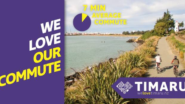 Aoraki Development hopes images like this will appeal to Aucklanders stuck in traffic.
