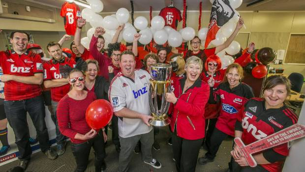 Mayor Lianne Dalziel was meant to host a victory celebration for the Crusaders, but will no longer be able to attend ...