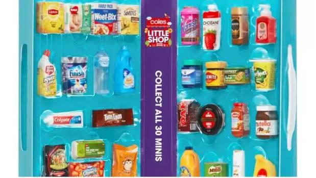 Coles' Little Shop has been wildly popular in Australia.
