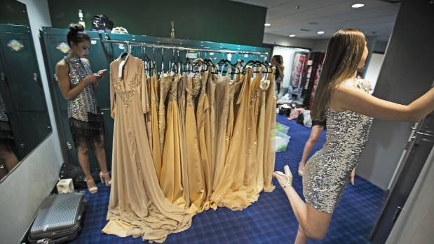 It wouldn't be a pageant without ballgowns and sequins - lots of them.