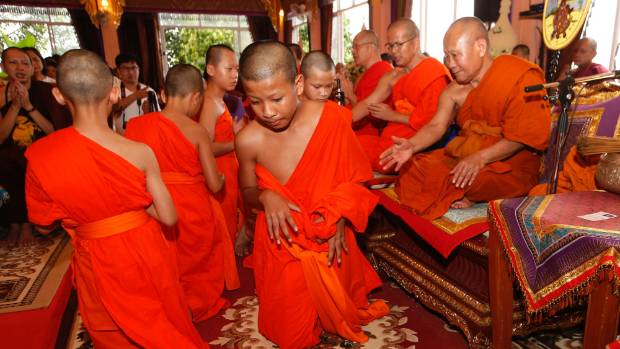 Thai cave rescue: 11 footballers complete 9-day ordination as Buddhist novices