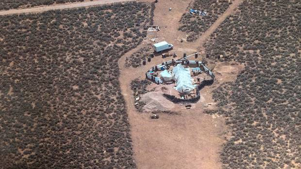 Child's remains found at New Mexico makeshift compound
