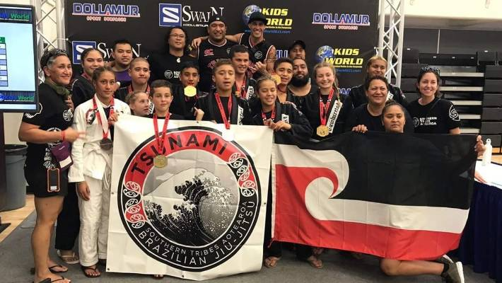 Turangi's Brazilian Jiu-Jitsu youth take gold in Los Angeles