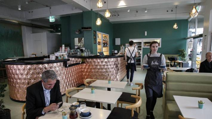 Well-known Wellington cafe The Lido reopened late last year. It has been a player on the capital food scene for nearly three decades.