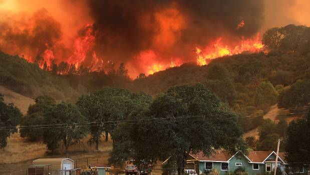 California wildfire becomes largest in state history