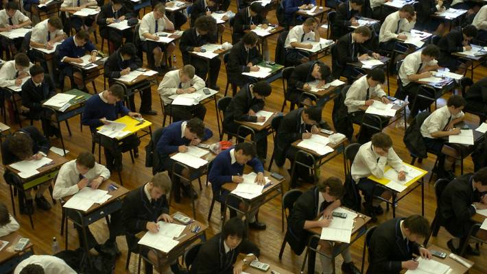 About 140,000 students entered NCEA exams and 25,000 completed internal assessments in 2018 (file photo).