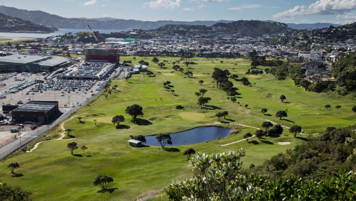 Wellington Airport has offered Miramar Golf Club $31m to buy half of the club's land. (File photo)