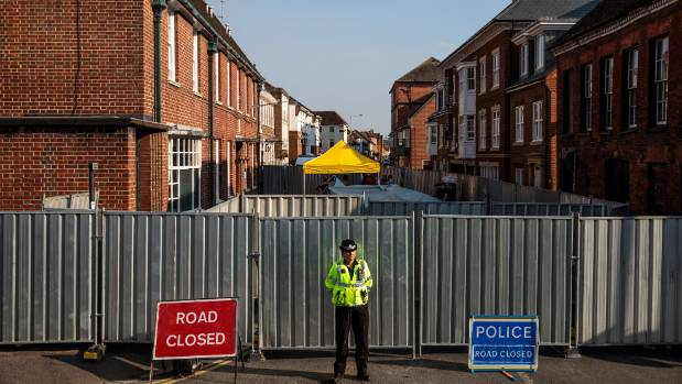 U.S.  imposes sanctions on Russian Federation  over Skripal poisonings in Salisbury