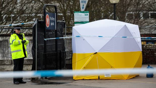 Parts of the city of Salisbury were sealed off after the nerve agent attack