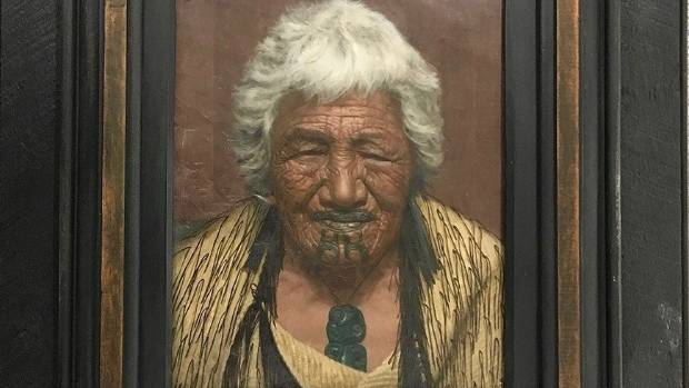 Kapi Kapi an Arawa Chieftainess, painted in 1918, is going up for sale at the International Art Centre next week.