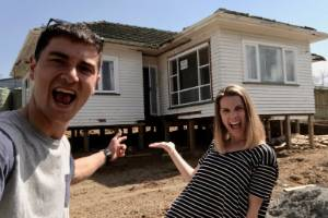 There's a huge demand for do-ups, such as this house that early winners on The Block, Alice and Caleb Pearson, bought to ...