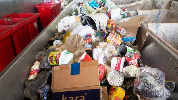Xtreme Zero Waste set up its facility to collect and separate cans, cardboard, plastic, glass and metal.