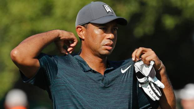 Early stumbles blunt charges by Tiger, Fowler at PGA Championship