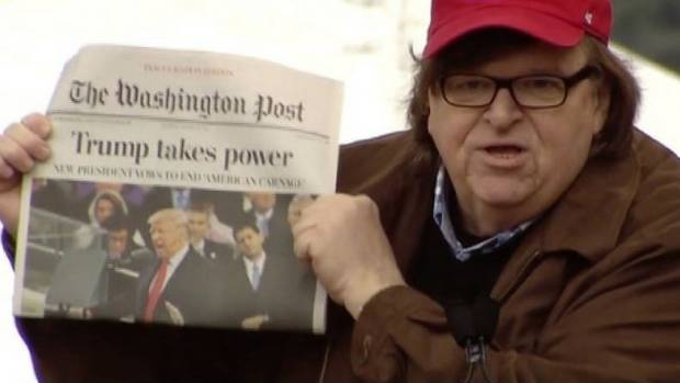 Michael Moore has released a trailer for his forthcoming documentary Fahrenheit 11/9
