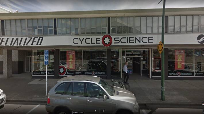 Bicycle store staff nab fist-swinging robber in Lower Hutt