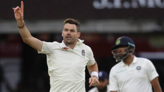 James Anderson was on song in bowler-friendly conditions