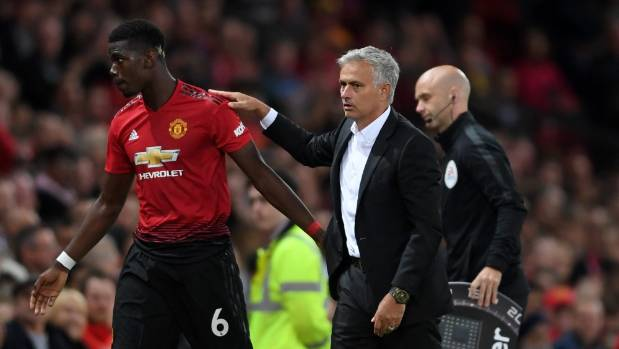 Paul Pogba has endured a somewhat fraught relationship with Manchester United manager Jose Mourinho