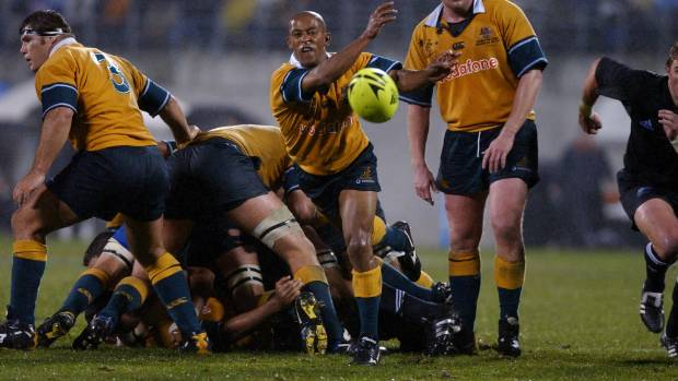 George Gregan captained the Wallabies to their last Bledisloe Cup series victory over the All Blacks in 2002