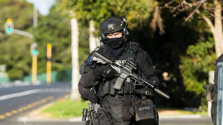 West Coast Armed Offenders Squad arrested a man who allegedly threatened another man with a firearm. (File photo).
