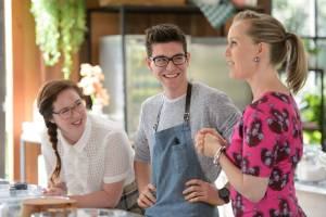 The Great Australian Bake Off hosts Mel Buttle and Claire Hooper deliver a welcome barrage of quick-witted quips and ...
