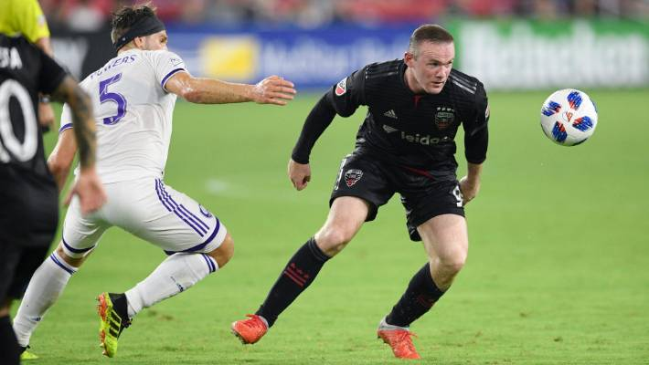 eb689ec0b Former England captain Wayne Rooney in action during DC United s 3-2 win  against Orlando
