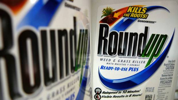 Shares slide on Monsanto cancer case