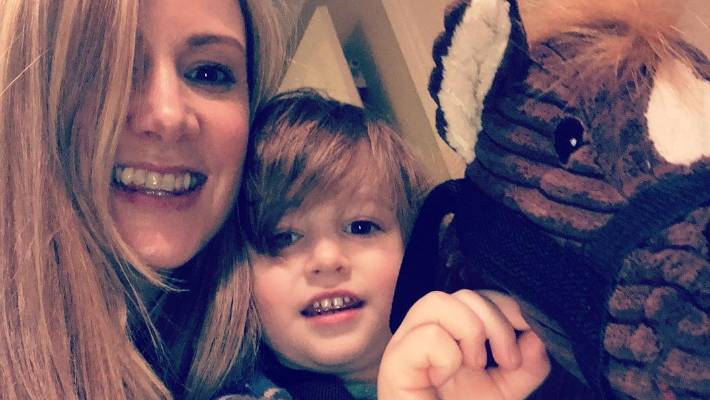Terminally ill mother's gift to son
